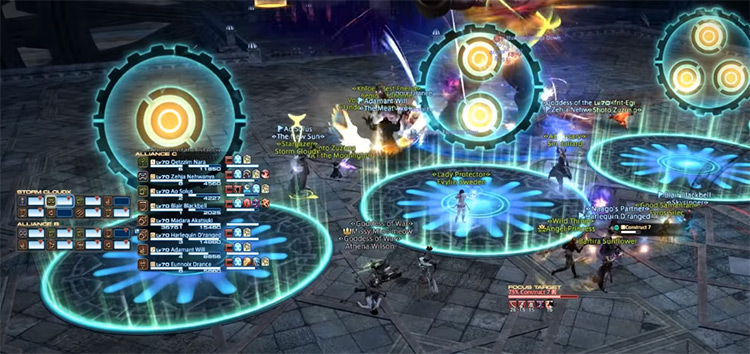 Ridorana Lighthouse 24-man raid FFXIV screenshot