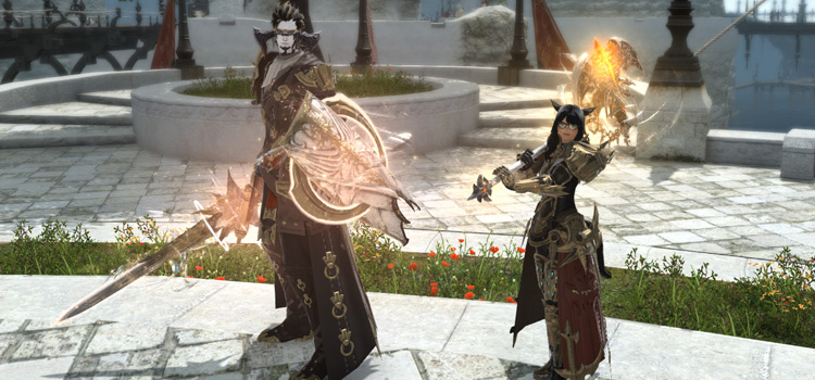 Paladin and Warrior Relic Weapons in Final Fantasy XIV