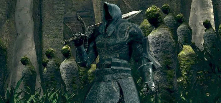 Spooky Knight Stone Armor Set in DS1