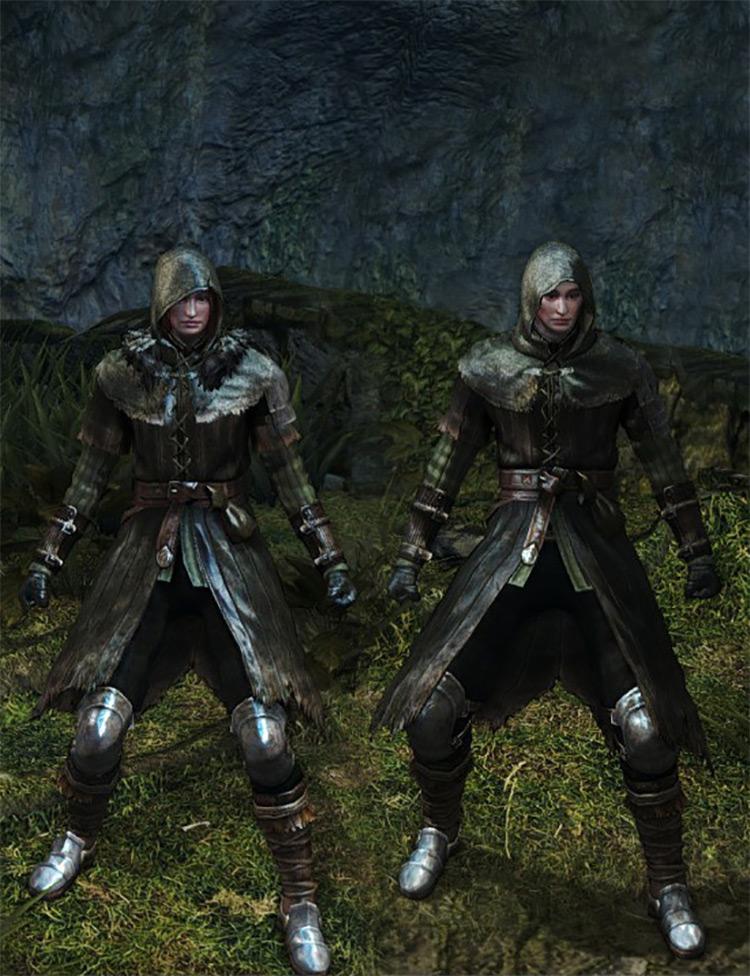 Wanderer Armour Set / Dark Souls Remastered