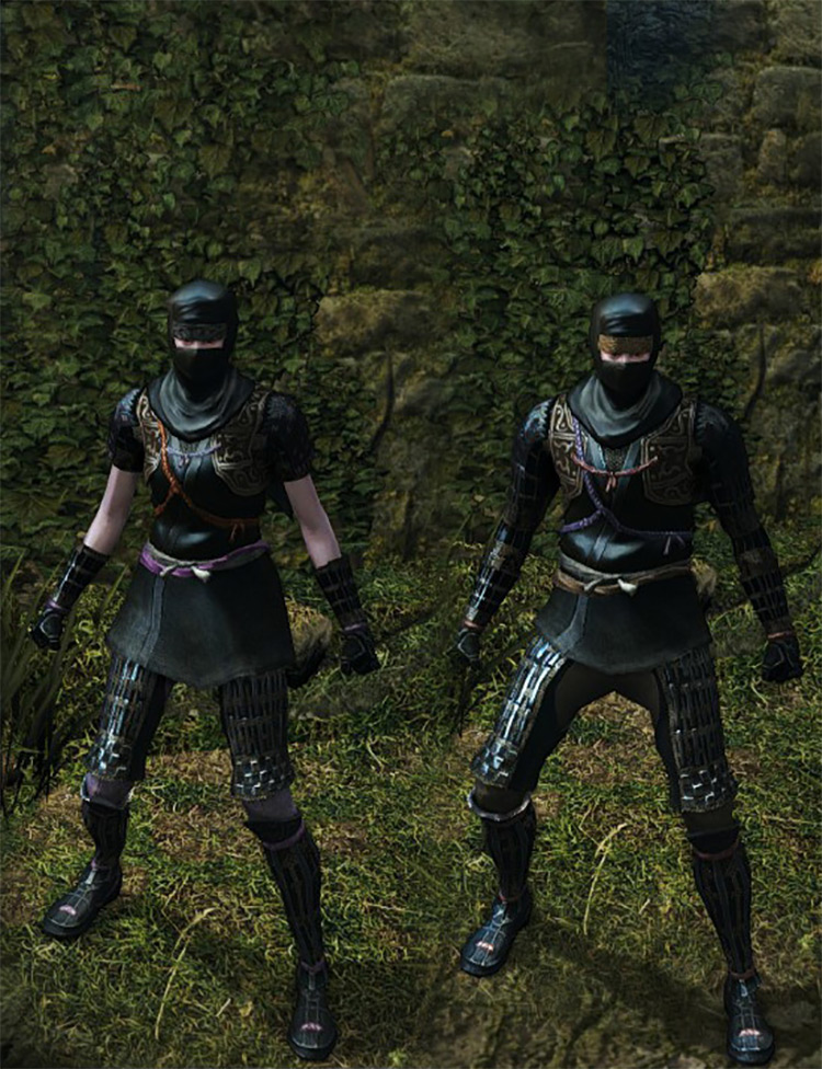Shadow Armor Set in DS1 Remastered
