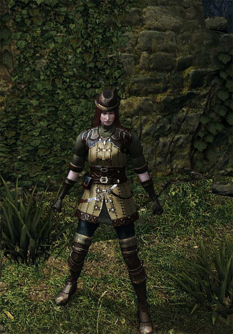 Hunter Armor Set from Dark Souls Remastered