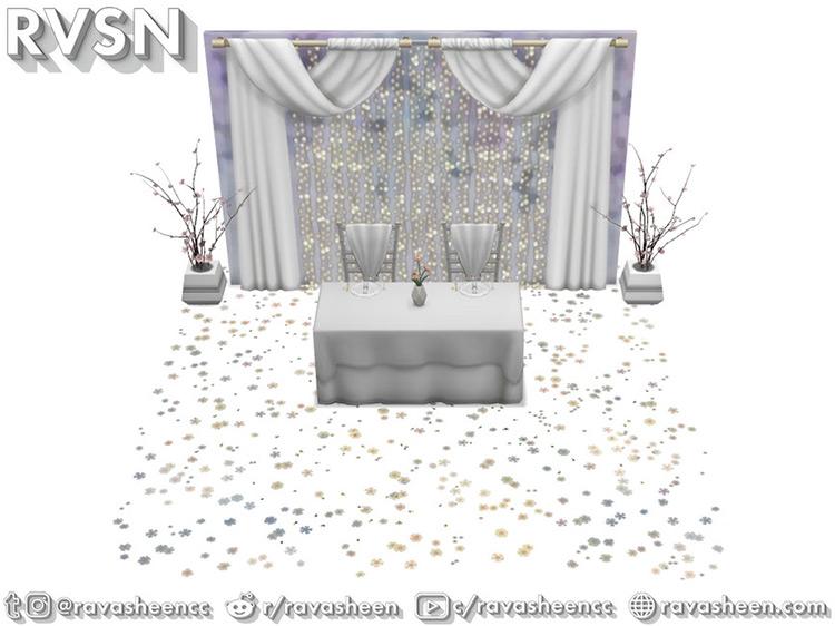 Push Comes to Love Wedding Set / TS4 CC