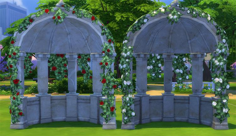 The Folly Arch / Sims 4 CC