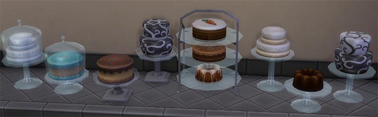 Bakery Goodies / Sims 4 CC