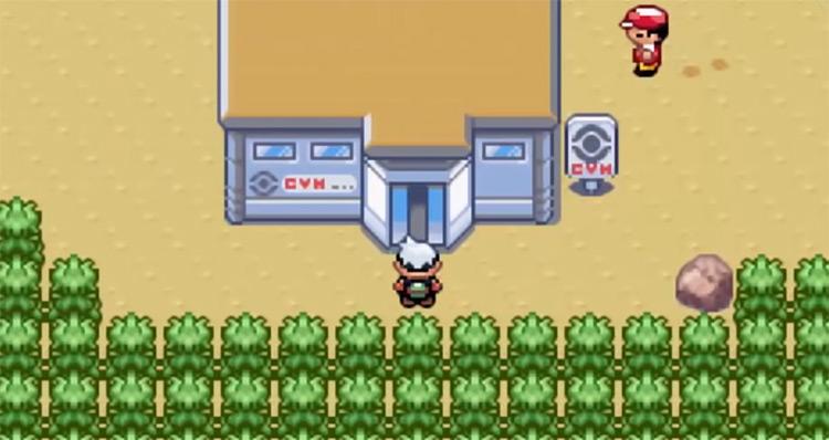 Dewford Town Gym Exterior in Pokemon RSE