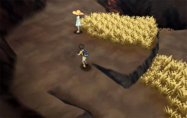 Wela Volcano Park Trial from Pokemon Sun