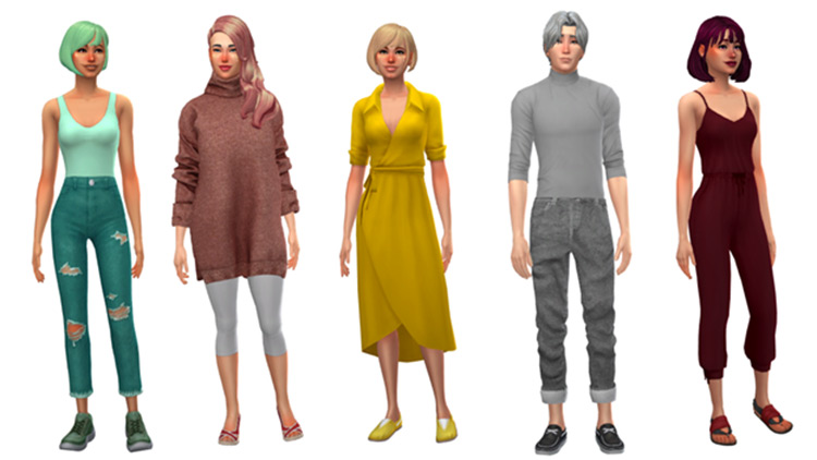 Sims 4 Not So Berry Character Builds
