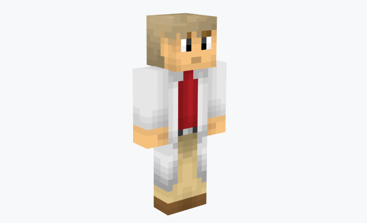 Professor Oak Minecraft Skin
