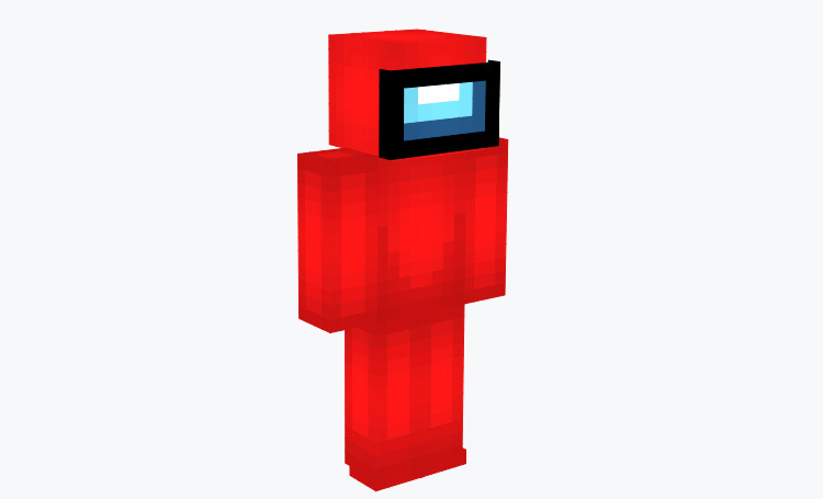 Red Guy Among Us Skin for Minecraft