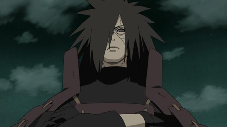Madara Uchiha from Naruto Shippuden anime