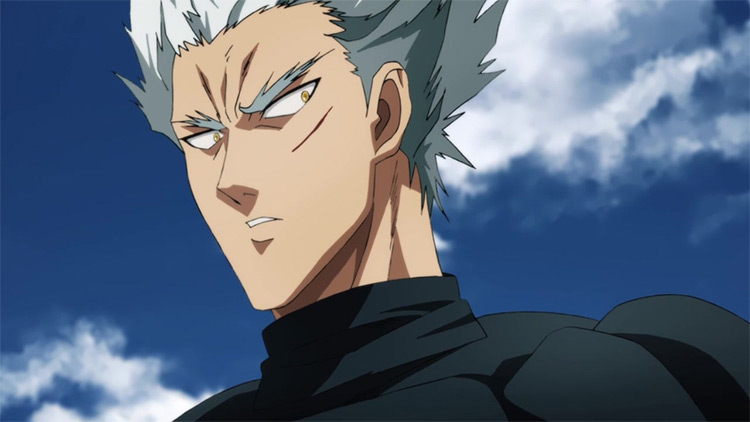 Garou in One Punch Man anime