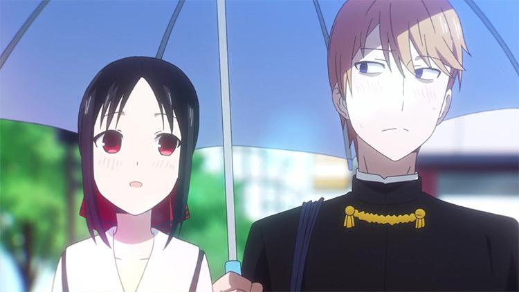 Kaguya-sama: Love is War anime screenshot
