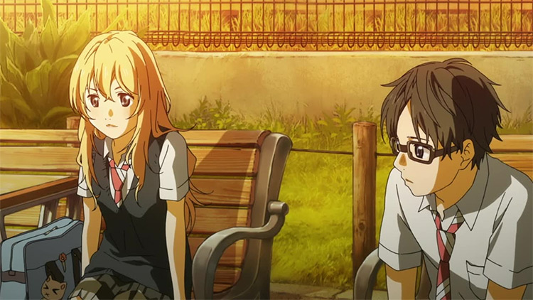 Your Lie in April anime screenshot
