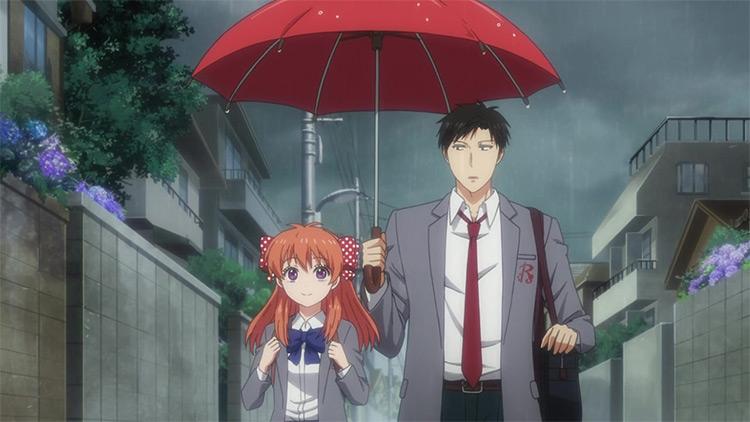 Monthly Girls' Nozaki-kun anime screenshot