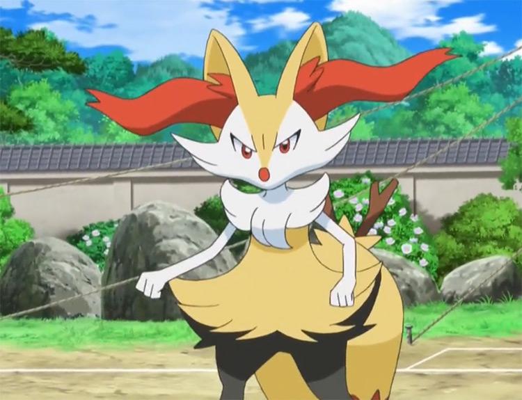 Braixen from Pokemon anime