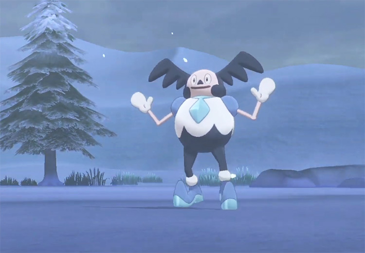 Galarian Mr. Mime in Pokémon SWSH