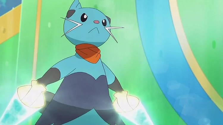 Dewott Pokemon anime screenshot
