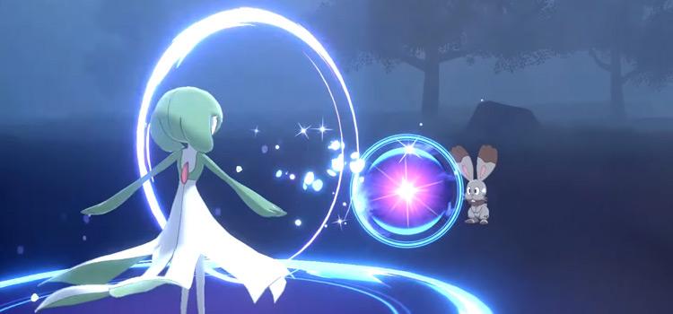Moonblast battle move from Pokémon Sword