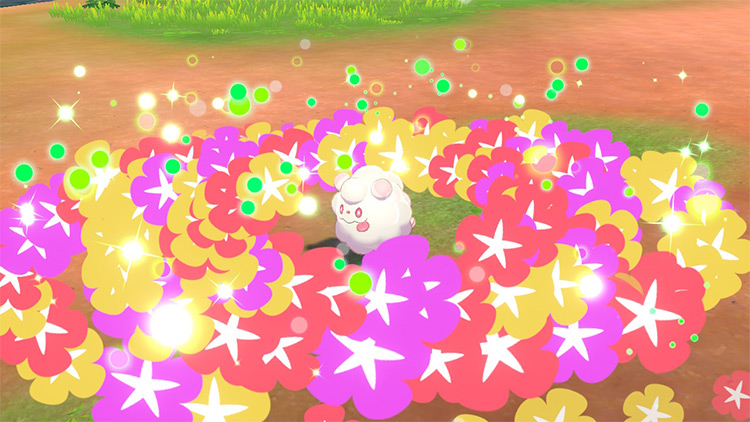 Floral Healing Pokémon Sword and Shield
