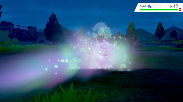 Strange Steam Pokémon SWSH move