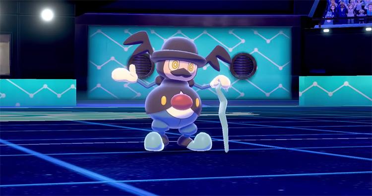 Mr. Rime in Pokémon Sword and Shield