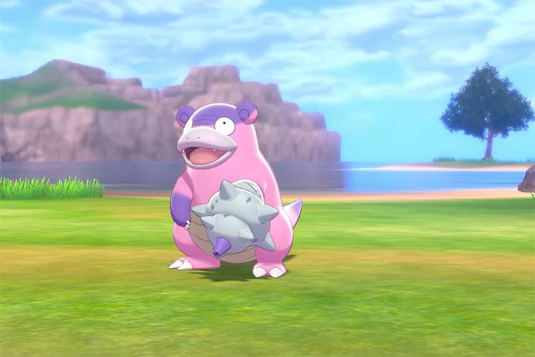 Galarian Slowbro in Pokémon SWSH
