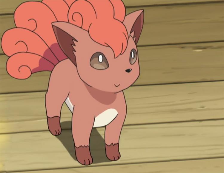 Vulpix from Pokemon anime