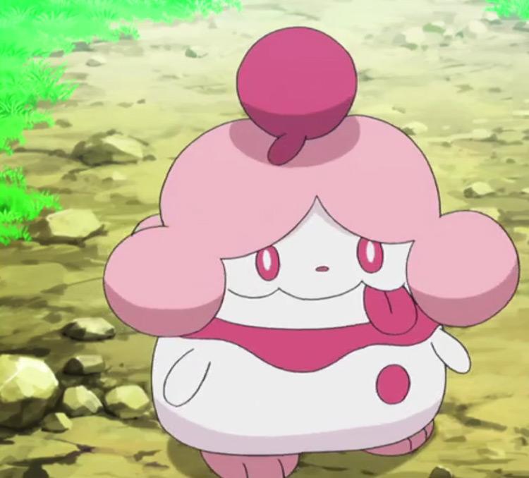 Slurpuff from Pokemon anime