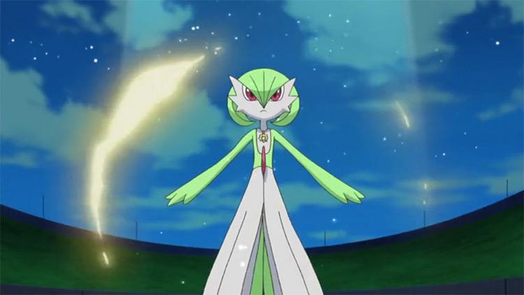 Gardevoir Pokemon anime screenshot