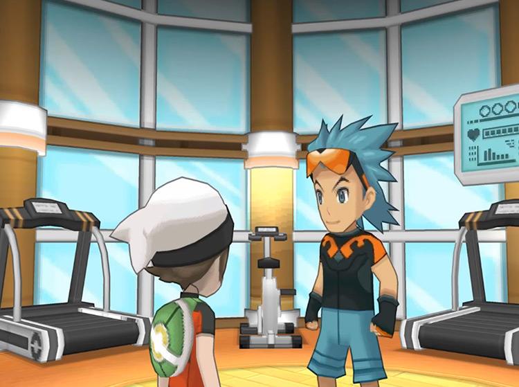 Brawly Gym Leader in Pokémon ORAS