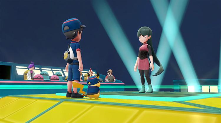 Sabrina / Pokémon Let's Go Gym Leader Screenshot