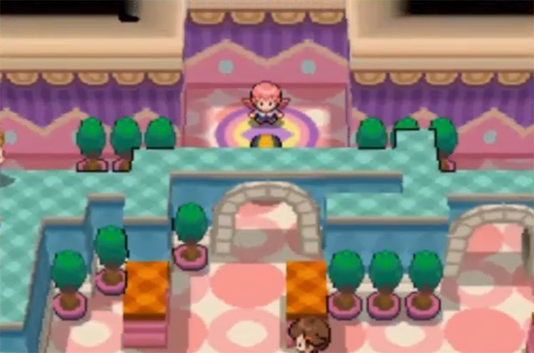 Whitney in Pokémon HeartGold