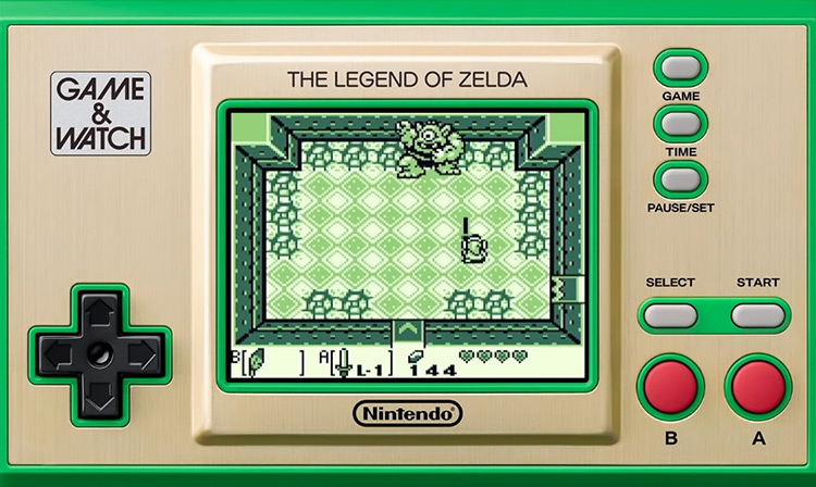 The (New) Zelda Game & Watch screenshot