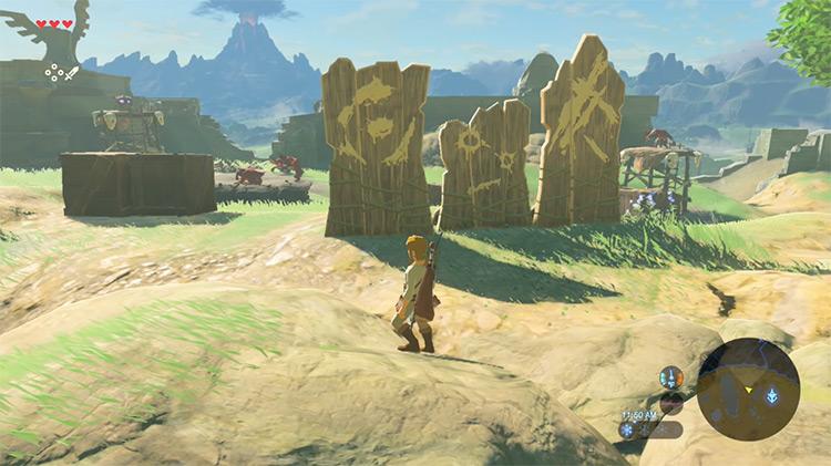 The Legend of Zelda: Breath of the Wild / Switch gameplay