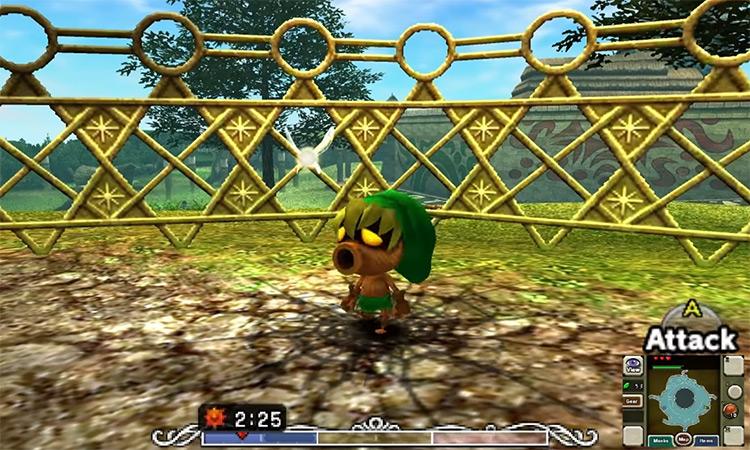 The Legend of Zelda: Majora's Mask 3D / Nintendo 3DS Screenshot