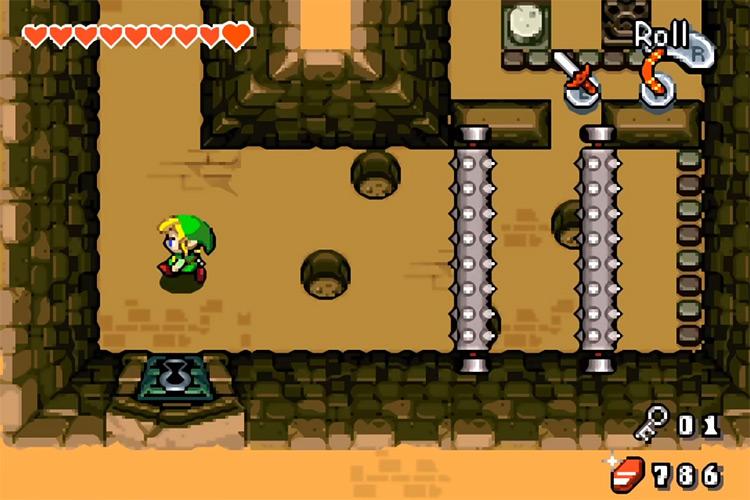 Legend of Zelda: The Minish Cap game screenshot