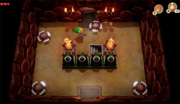 The Legend of Zelda: Link's Awakening (Remake) / Switch gameplay