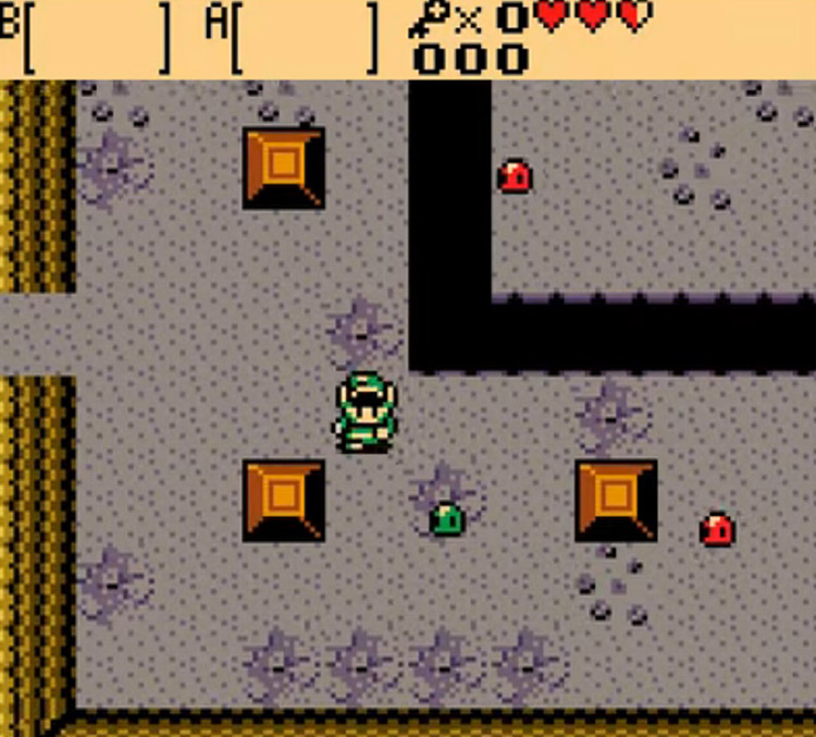 The Legend of Zelda: Oracle of Seasons & Ages / GBC screenshot