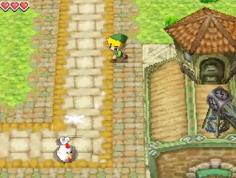 Legend of Zelda: Phantom Hourglass / NDS screenshot