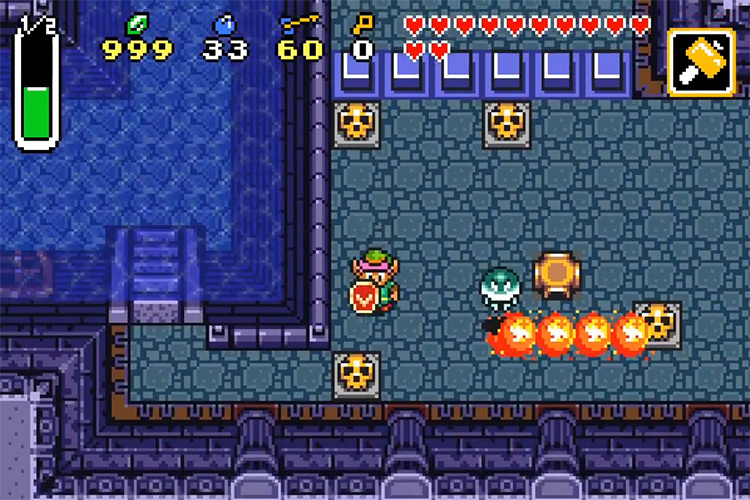 Legend of Zelda: A Link to the Past & Four Swords on GBA
