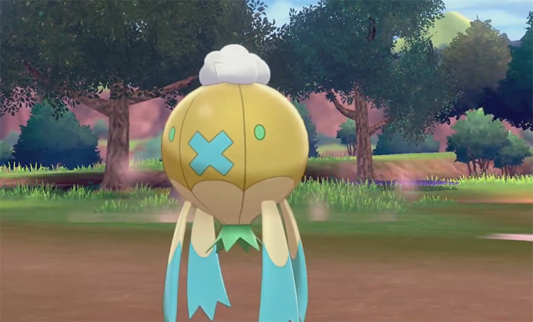 Shiny Drifblim from Pokémon Sword & Shield