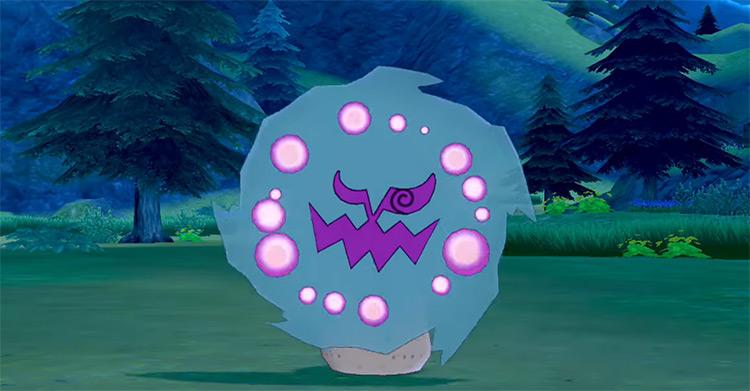 Shiny Spiritomb in Pokémon Sword and Shield