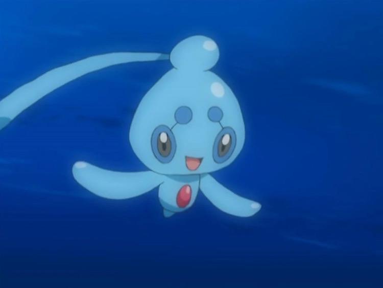 Phione Pokemon in the anime