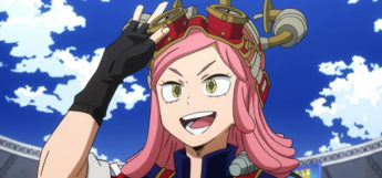 Mei Hatsume close-up screenshot from BNHA