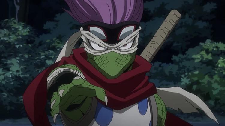Shuichi Iguchi – Gecko in BNHA anime