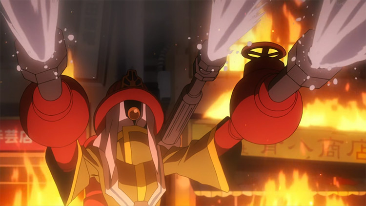 Backdraft – Water Pump MHA anime screenshot