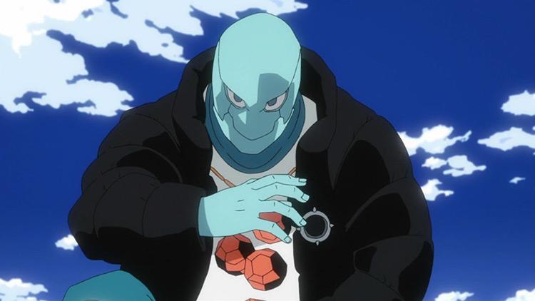 Shikkui Makabe – Stiffening in BNHA anime