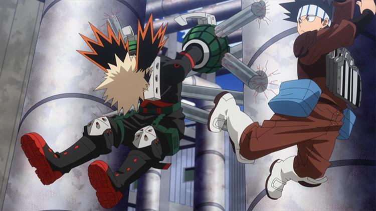 Yosetsu Awase – Weld in BNHA anime