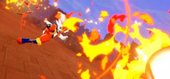 Cinderance using Pyro Ball in Pokemon Sword